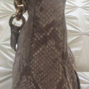 Michael Kors Bags - 🌺Genuine Michael Kors snake skin handbag🌺